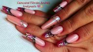 Best Nails - Bordó orosz mandula