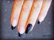 Best Nails - fekete francia