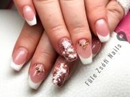 Best Nails - Rosegold francia