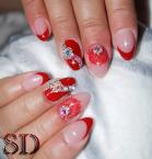 Best Nails - Piros francia
