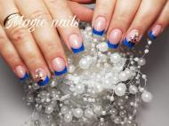Best Nails - Kék francia