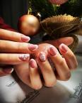 Best Nails - Karácsonyi francia