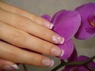 Best Nails - Pocelán virággal
