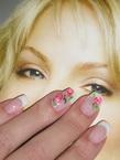 Best Nails - Francia akril virágokkal