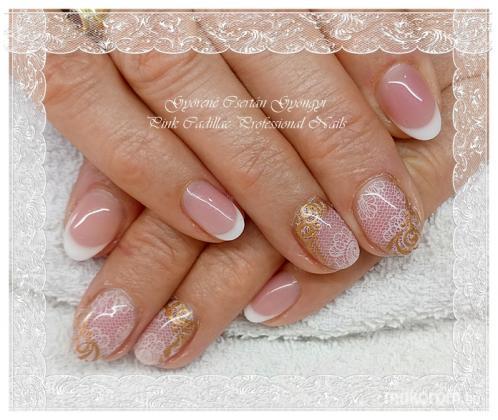 Lace nail - Francia köröm minták