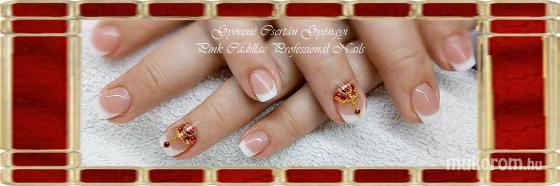 French nail - Francia köröm minták