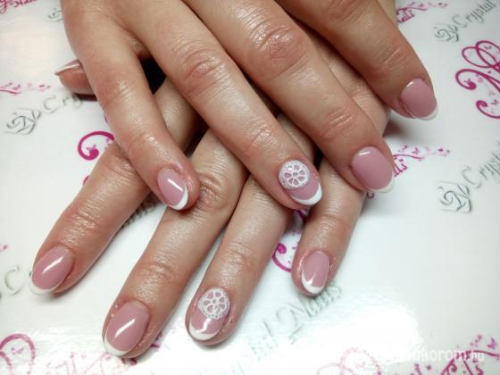 Magyar Niki - Moncsy Nails  Műkörmös - Mini francia csipke zselével - 2018-07-01 11:18