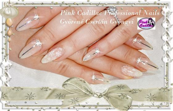 Györené Csertán Gyöngyi - Pink Cadillac Professional Nails Körömszalon - Babyboomer nail art - 2018-12-30 20:48