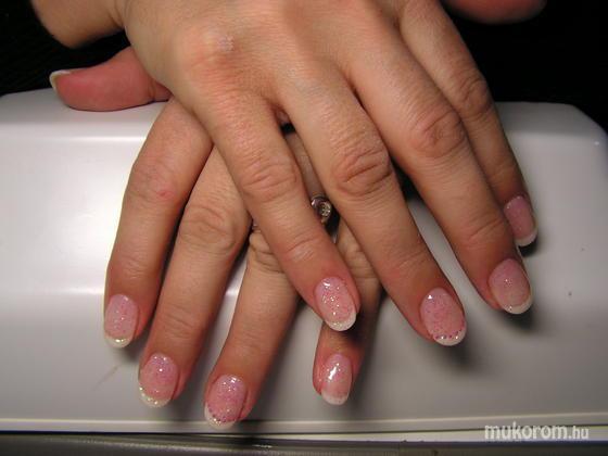 Takácsné Csik Hajnalka - Francia rózsaszín gyöngyökkel - 2011-05-29 19:59