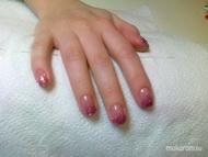 Best Nails - gel lac csillámmal1