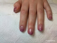Best Nails - gel lac csillámmal3