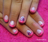 Best Nails - Neon pink