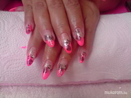 Best Nails - pink gel lac