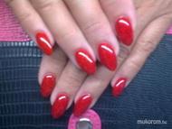 Best Nails - csillogo vörös
