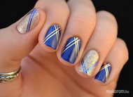 Best Nails - Moda en azul