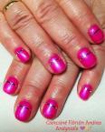 Pink géllakk