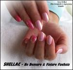 Shellac Royal gel festéssel