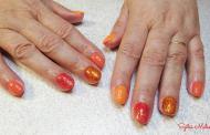 Best Nails - narancs mánia
