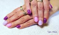 Best Nails - lila variáció