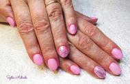 Best Nails - rózsaszín csillogós