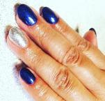 Best Nails - kék ezüst