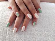 Best Nails - Pisztácia fehérrel