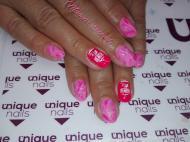 Pink y gel