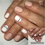 Fehér és nude