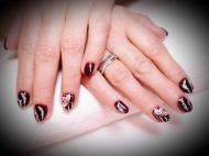 Best Nails - Gél lakk virágok
