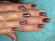 Best Nails - Gellac krómmal