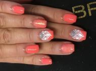Best Nails - Gellac zselé erősítéssel