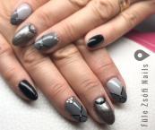 Best Nails - Szürke árnyalatok