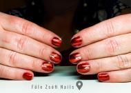 Best Nails - Tűzpiros ChroMirror