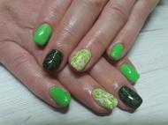 Zöld fekete