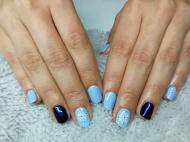 Kék hópehely