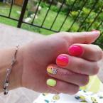 Best Nails - Citrom narancs színátmenet