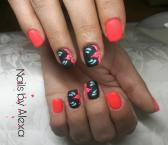 Best Nails - Matt spring nails