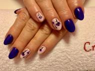 Best Nails - Lila tulipános