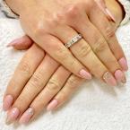 Best Nails - Cover rosé és ezüst boomer
