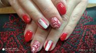 Best Nails - Piros elegáns