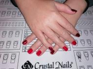 Best Nails - Csillogós piros