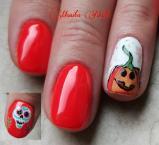 Halloween pumpkin and Coco