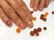 Best Nails - Őszi foltosleveles