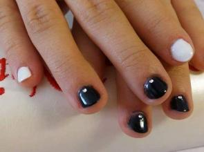 fekete fehér mini