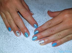 Kék fehér variáció
