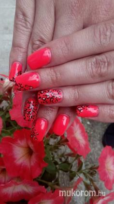 Top Nails & Hair - Perfect Nails neon Párducmintával - 2016-06-26 16:46