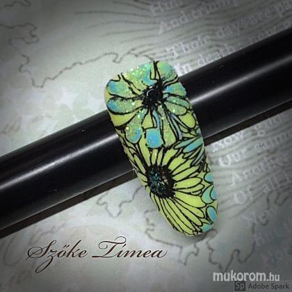 Szőke Tímea - gél lakk nyomdával - 2018-06-09 00:05