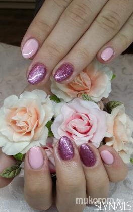 Rózsaszín gél lakk  - Gél Lakk