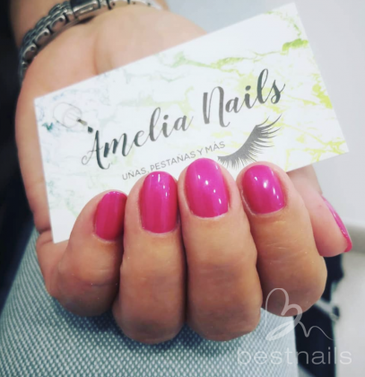 AmeliaNails - Rosa chicle - 2019-06-06 12:37