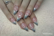 Best Nails - Csipke minta